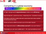 competing in a global economy