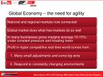 global economy the need for agility