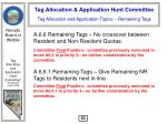 tag allocation and application topics remaining tags