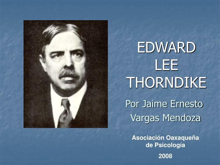 edward lee thorndike n.