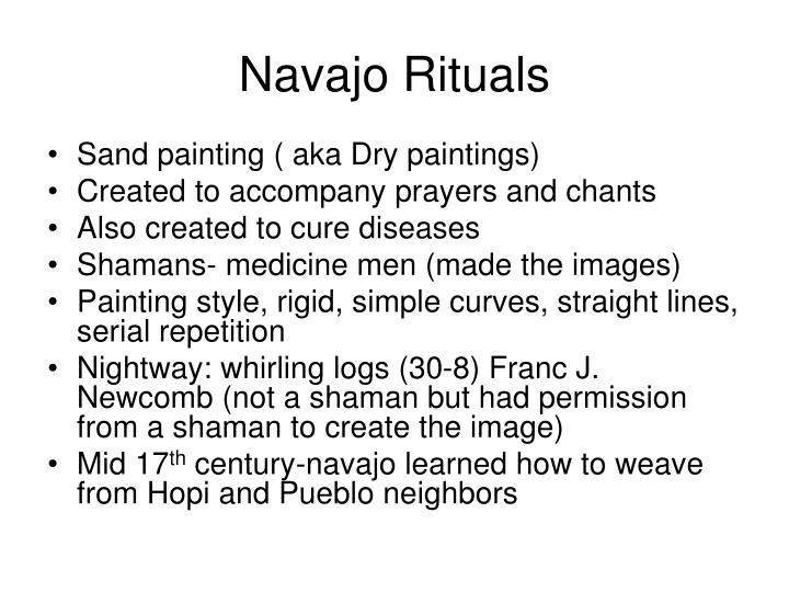 Navajo rituals