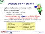 directors are wf engines