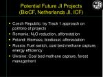 potential future ji projects biocf netherlands ji icf