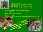 jota joti in the netherlands kit building services