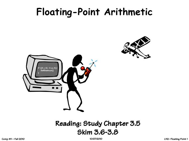 floating point arithmetic n.