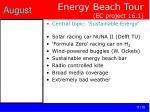 energy beach tour ec project 16 1
