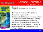 science unlimited ec project 16 3
