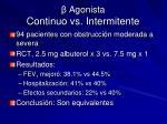 agonista continuo vs intermitente1