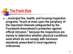 the frank rule