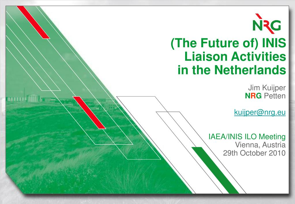 the future of inis liaison activities in the netherlands l.