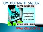omloop math salden1