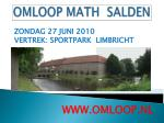 omloop math salden2