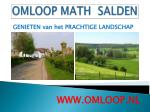 omloop math salden9