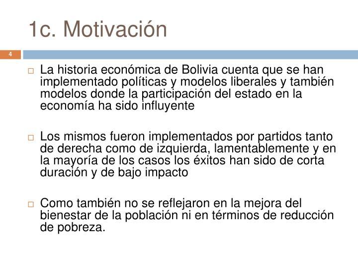 1c. Motivación