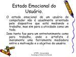 estado emocional do usu rio