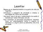 leont ev