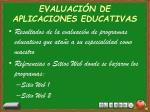 evaluaci n de aplicaciones educativas1