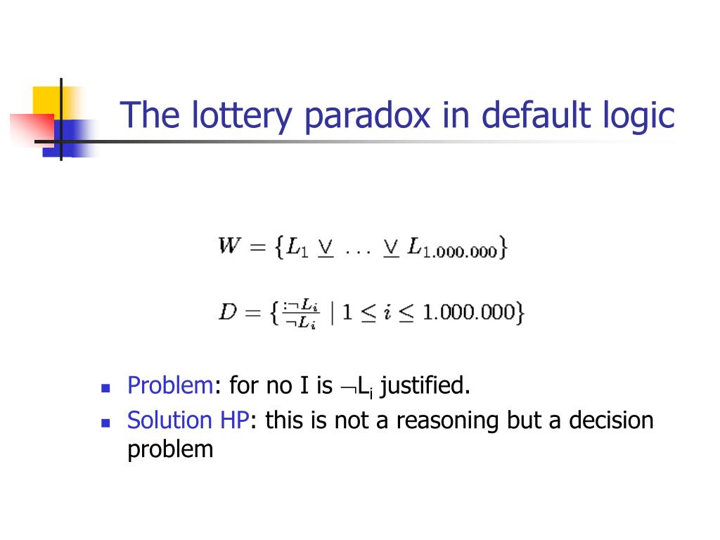 The lottery paradox in default logic