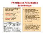 principales actividades econ micas