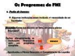 os programas do fmi8