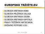 europsko tr i te eu
