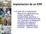 implantaci n de un erp