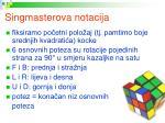 singmasterova notacija
