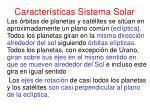 caracter sticas sistema solar