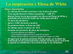 la inspiraci n y elena de white1