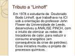 tributo a linhoff