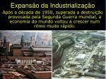 expans o da industrializa o