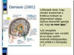damasio 2001