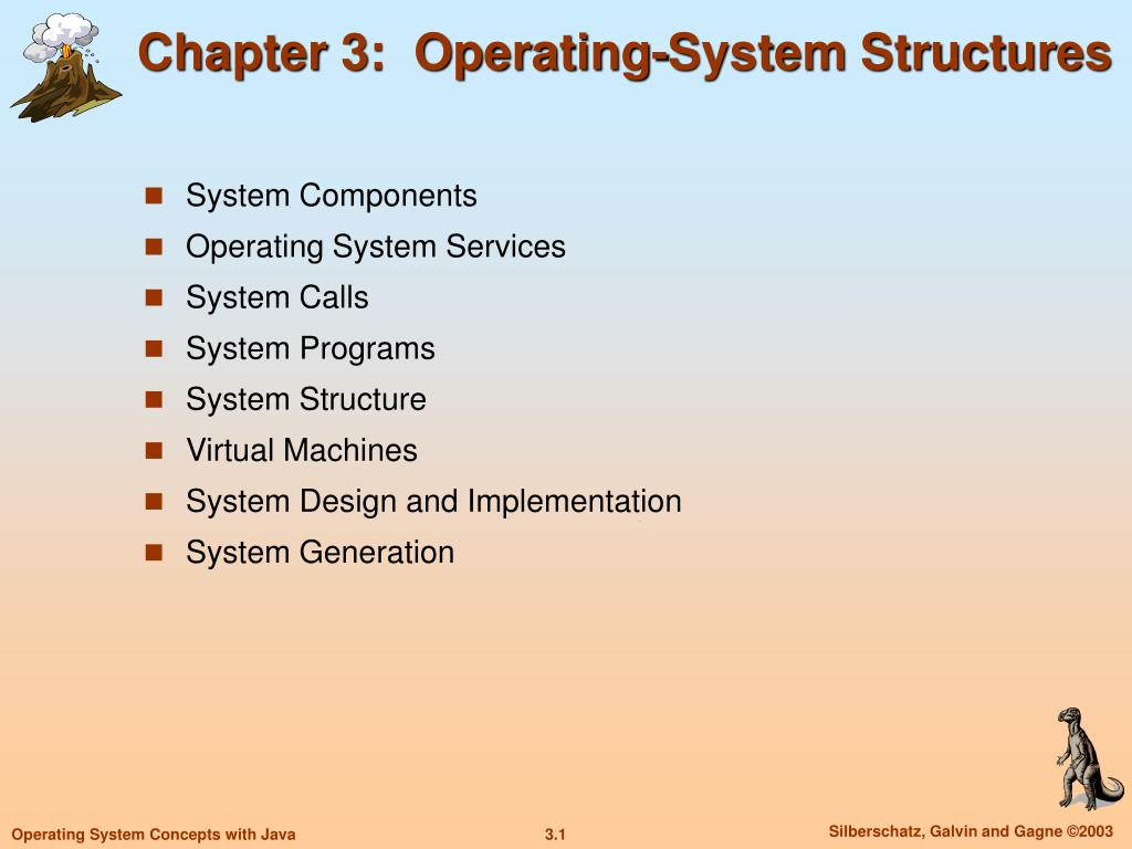 chapter 3 operating system structures l.