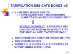 tarification des cats bonds 5