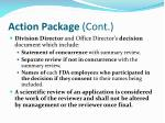 action package cont