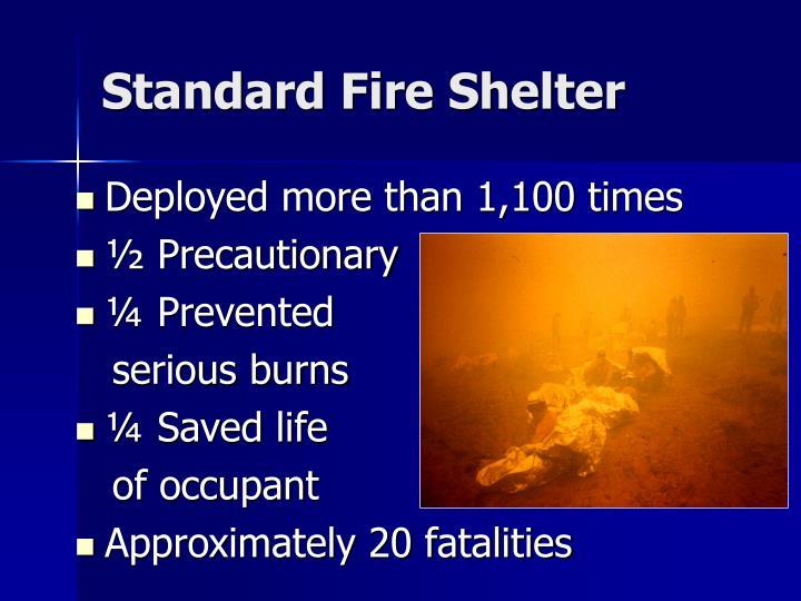 Standard fire shelter1