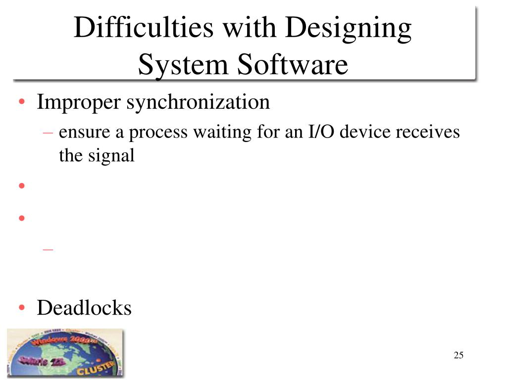 Difficulties with Designing