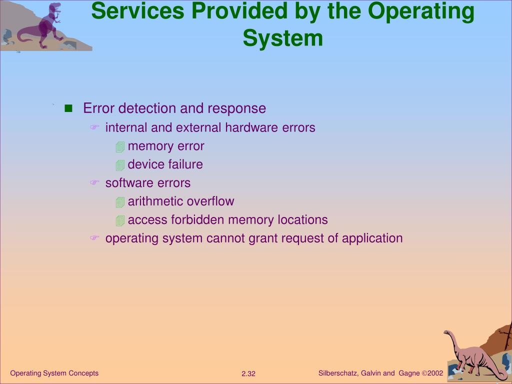 Services Provided by the Operating System