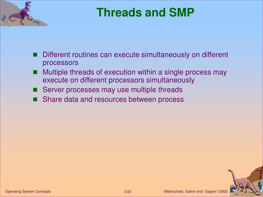 Threads and SMP