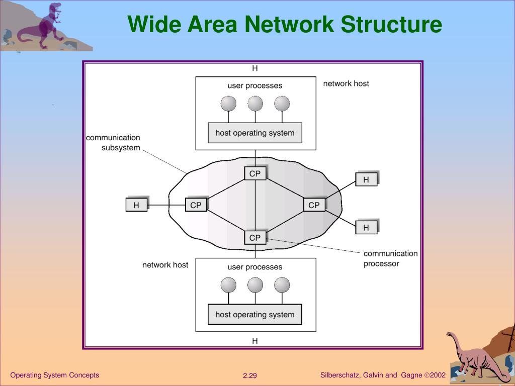 Wide Area Network Structure