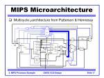 mips microarchitecture