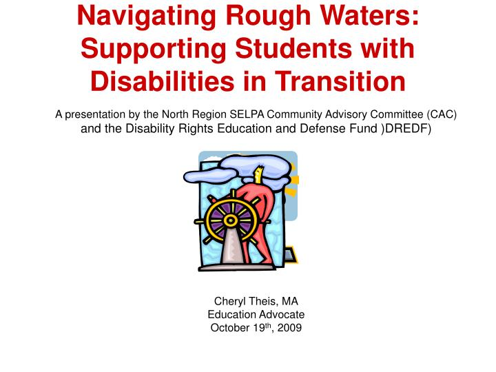 navigating rough waters supporting students with disabilities in transition n.