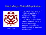 united malayas national organization