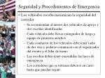 seguridad y procedimientos de emergencia3