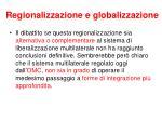 regionalizzazione e globalizzazione1