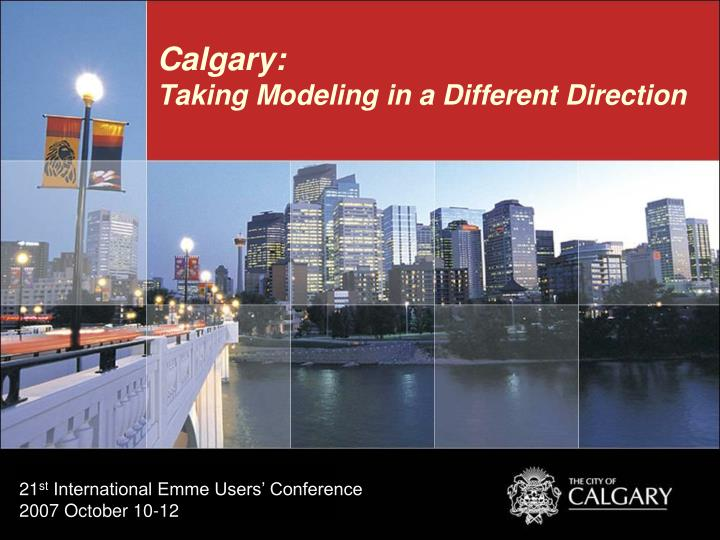 calgary taking modeling in a different direction n.