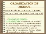 organizaci n de medios