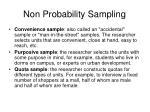non probability sampling1