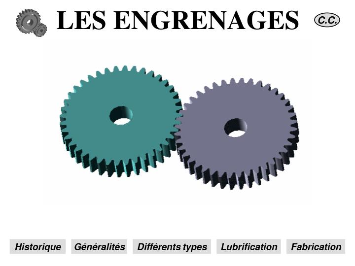 les engrenages n.