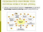federated distributed system structure fdss